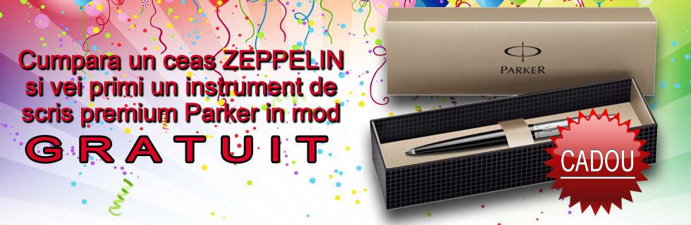 Ceasuri Zeppelin cu cadou pix Parker