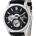 poze ceas Marvin Malton Round Automatic Steel Black
