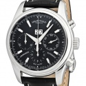 poze ceas Armand Nicolet TM7 Big Date Chronograph Steel Black