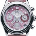 poze ceas Armand Nicolet M03 Date Chrono Steel Pink