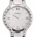 poze ceas Ebel Beluga Tonneau Diamonds Steel Black