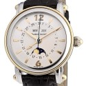 poze ceas Armand Nicolet LL9 Central Seconds Gold Steel White