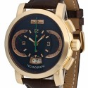 poze ceas Corum Admirals Cup Rose Gold Brown