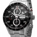 poze ceas Zenith Class Elite Dual Time Steel Black