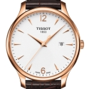 Tissot Tradition Gent Gold White watch