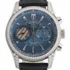 Poze ceas Armand Nicolet L07 Venus Chronograph Steel Blue Diamonds