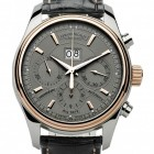 Poze ceas Armand Nicolet M02 Big Date Chrono Steel Rose Grey