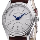 Poze ceas Armand Nicolet M02 Day-Date Steel White Leather