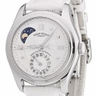 ceas Armand Nicolet M02 Moon Date Lady Steel White