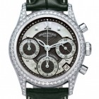 Poze ceas Armand Nicolet M03 Chrono Steel Black Diamonds