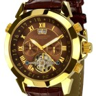 Poze ceas Calvaneo 1583 Astonia Gold Brown