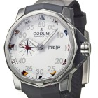 Poze ceas Corum Admirals Cup Competition Steel White Rubber