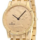 ceas Corum Coin Watch Gold