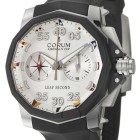 Poze ceas Corum Leap Second Titanium Black White