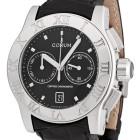 ceas Corum Romulus Chronograph Steel Black