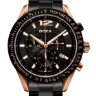 Ceas Doxa Trofeo Black Rose