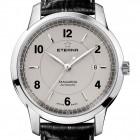 Poze ceas Eterna Tangaroa ThreeHands Steel Grey 3
