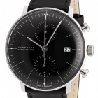 Poze ceas Junghans Max Bill Chronoscope Steel Black
