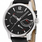 Poze ceas Louis Erard 1931 Retrograde Steel Black