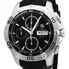 Poze ceas Tag Heuer Aquaracer Automatic Chronograph Steel Black 3