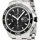 Poze ceas Tag Heuer Aquaracer Automatic Chronograph Steel Black
