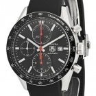 Tag Heuer Carrera Automatic Steel Black 2 watch