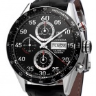 ceas Tag Heuer Carrera Automatic Steel Black 4