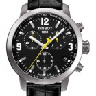 Tissot PRC 200 Quartz Chronograph Steel Black