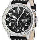 Poze ceas Zeno Watch Basel XL Pilot Steel Black
