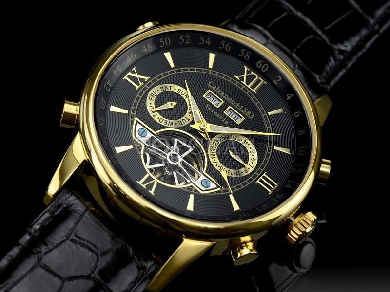 ceas calvaneo 1583 valencia gold ceas barbatesc