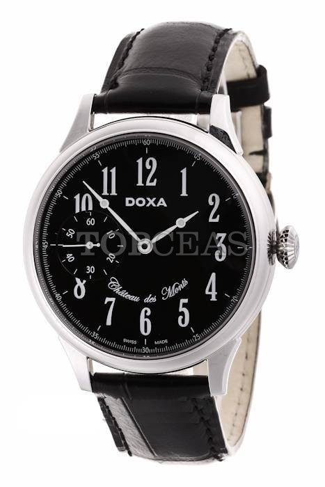 reducere Doxa Chateau Des Monts Steel Black Limited, cel mai mic pret