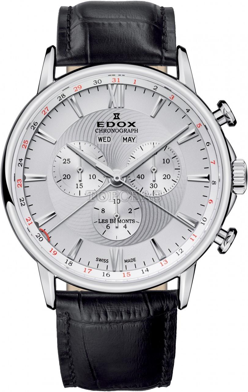 Edox Les Bemonts Chronograph