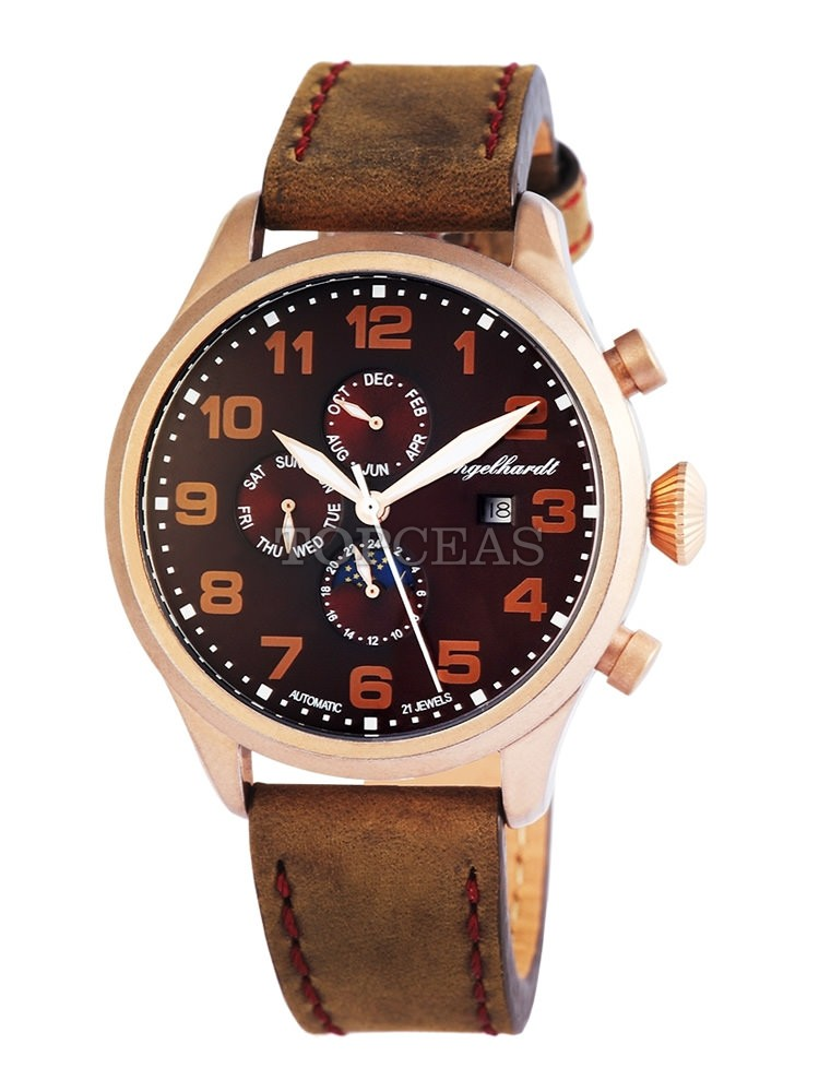Engelhardt Samuel Rose Gold Brown