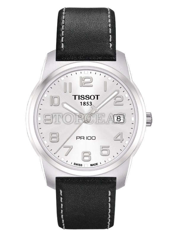 Tissot Pr 100 Quartz Gent Steel Leather
