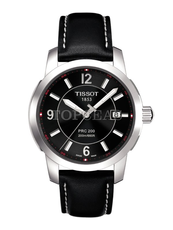 Tissot PRC 200 Quartz Gent Steel Leather