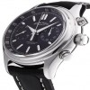 Ceas Armand Nicolet M02 Chronograph Steel Black Leather - poza #3