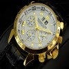 Ceas Calvaneo 1583 Astonia Chrono One Gold - poza #4