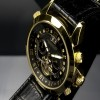 Ceas Calvaneo 1583 Astonia Diamond Black Gold - poza #3