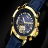 Ceas Calvaneo 1583 Astonia Diamond Blue Gold - poza #3