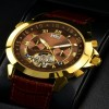 Ceas Calvaneo 1583 Astonia Gold Brown - poza #4