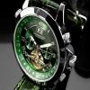 Ceas Calvaneo 1583 Astonia Platin Green - poza #2