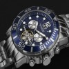 Ceas Calvaneo 1583 Sea Command Steel Blue - poza #3