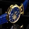 Ceas Calvaneo 1583 Venedi II Gold Blue - poza #2