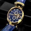 Ceas Calvaneo 1583 Venedi II Gold Blue - poza #3