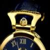 Ceas Calvaneo 1583 Venedi II Gold Blue - poza #4