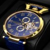 Ceas Calvaneo 1583 Venedi II Gold Blue - poza #6