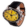 Ceas Karl Breitner Aviator Steel Yellow - poza #2
