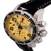 Ceas Karl Breitner Aviator Steel Yellow - poza #4