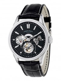 Poza ceas Armand Nicolet L08 Small Seconds Steel Black