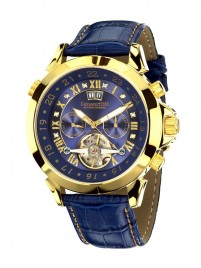 Poze Ceas barbatesc Calvaneo 1583 Astonia Diamond Blue Gold